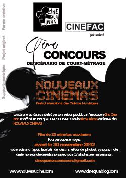 Appel à films / Concours de scénario - édition 2013 Concours_scenar-2012_siteNC